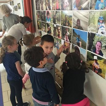 Résidence Photographique Sarah Ritter, Ecole Maternelle de Lablachère, Mai 2016