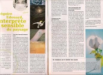 Décembre 2011 – Pleine tête n°11 - Grégoire Édouard Interprète sensible du paysage